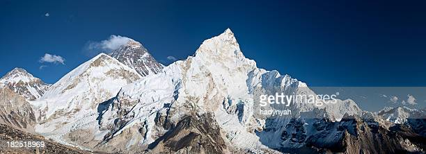 Mount Everest, Lhotse and Nuptse from Kala Pattar