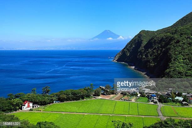 Mount Fuji and Suruga Bay, Shizuoka Prefecture
