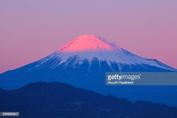Mount Fuji Dyed Pink