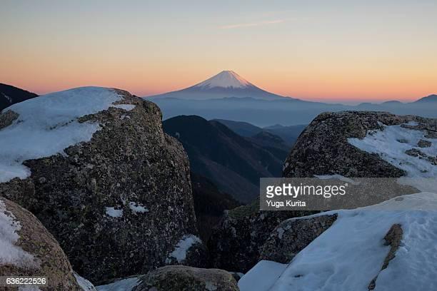 Mount Fuji from Mount Mizugakiyama