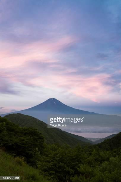 Mount Fuji in the Morning