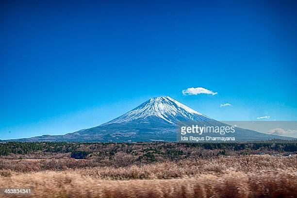 Mount Fuji On A Clear Day