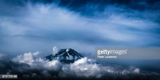 Mount Fuji over clouds, Fuji-Hakone-Izu National Park, Japan
