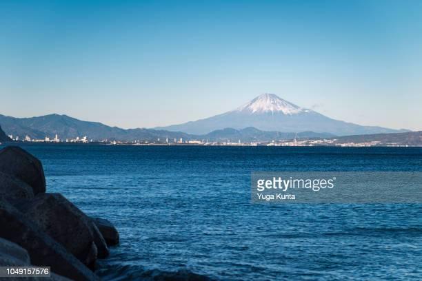 Mount Fuji over the Sea