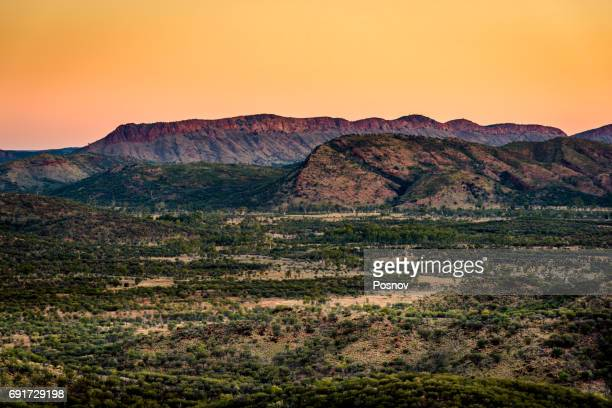 Mount Gillen at West Macdonnell Ranges