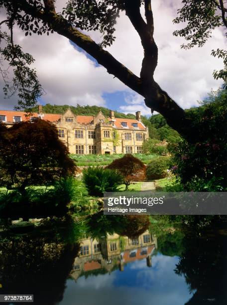 Mount Grace Priory Northallerton North Yorkshire circa 2000circa 2017 View of the manor house at Mount Grace Priory from the northwest with the...