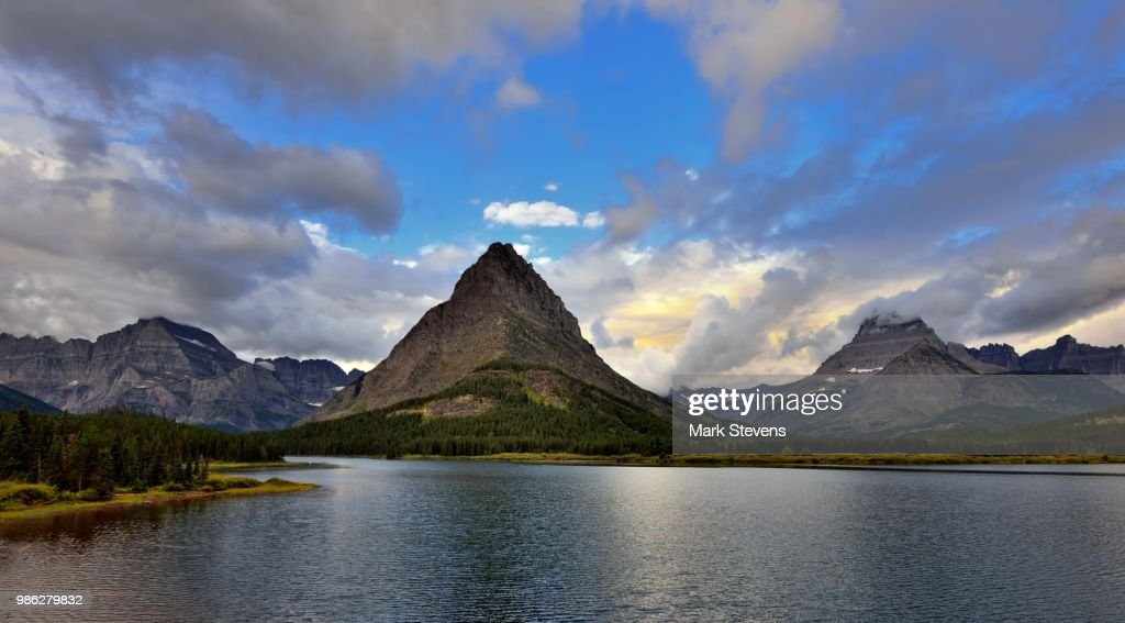 mount grinnell in glacier national park montana stock photo getty