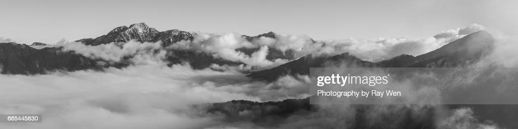 Mount Hehuan : Stock Photo