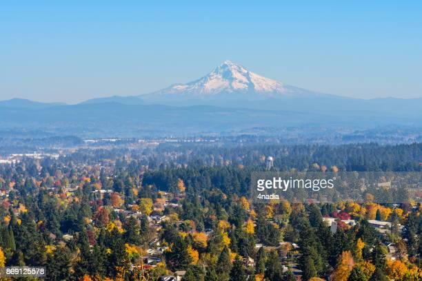 Mount Hood aus Rocky Butte, Oregon