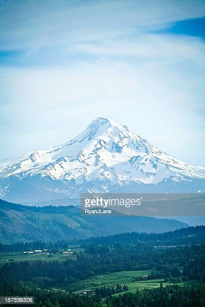 mount hood, oregon state - hood river valley stock pictures, royalty-free photos & images