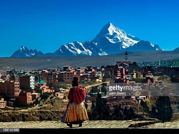 mount huayna potosi, el alto, bolivia - bolivia stock pictures, royalty-free photos & images