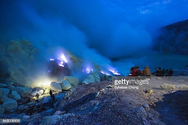 Mount Ijen Blue Flame