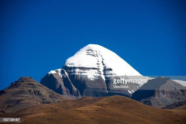 mount kailash in tibet  - mt kailash stock pictures, royalty-free photos & images