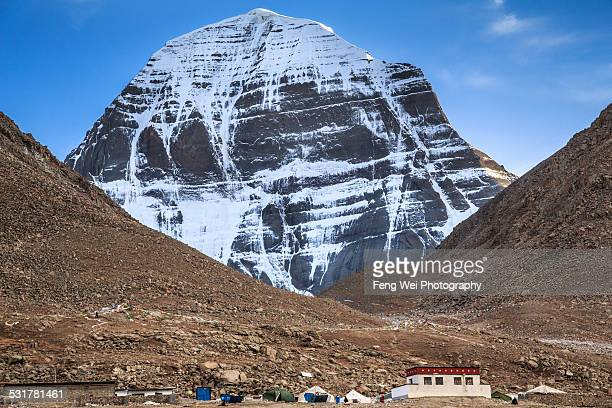 Mount Kailash North Face, Ngari Prefecture, Tibet