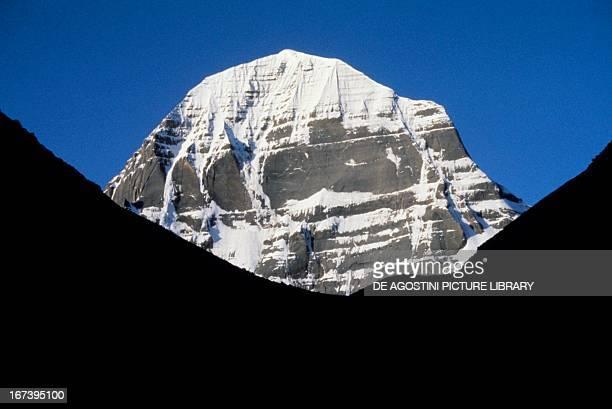 Mount Kailash sacred mountain of Hinduism Tibetan Buddhism and Jainism The Himalayas Tibet China