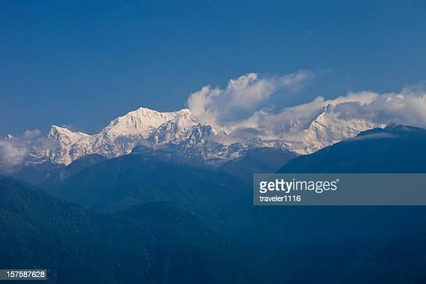 Mount Kanchendzonga Or Kangchenjunga