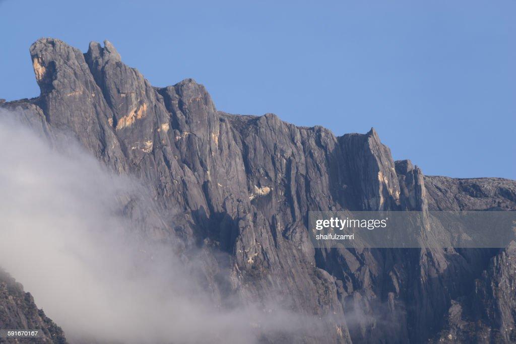 Mount Kinabalu in Sabah : Stock Photo