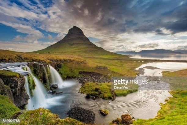 Mount Kirkjufell and Kirkjufellfoss