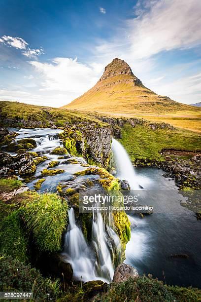Mount Kirkjufell and landscape