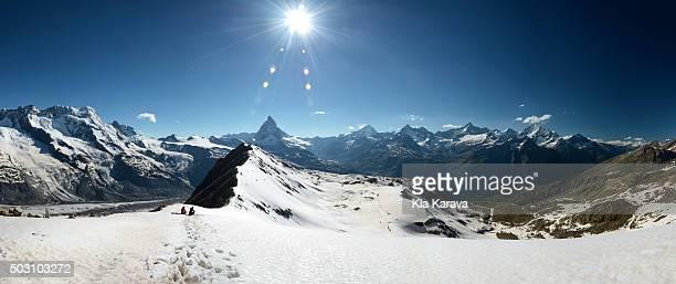 Mount Matterhorn Panorama