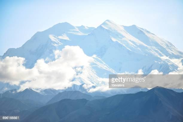 mount mckinley, denali national park, alaska, america, usa - mt mckinley stock photos and pictures