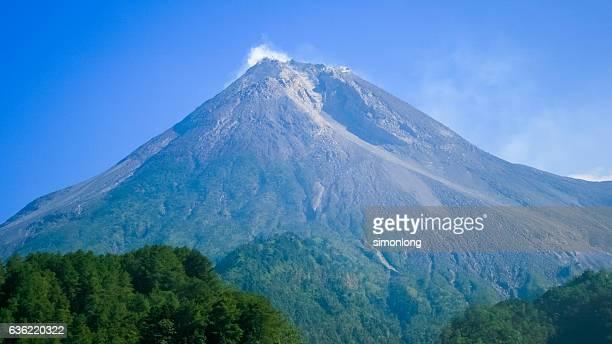 Mount Merapi  Yogyakarta, Indonesia.
