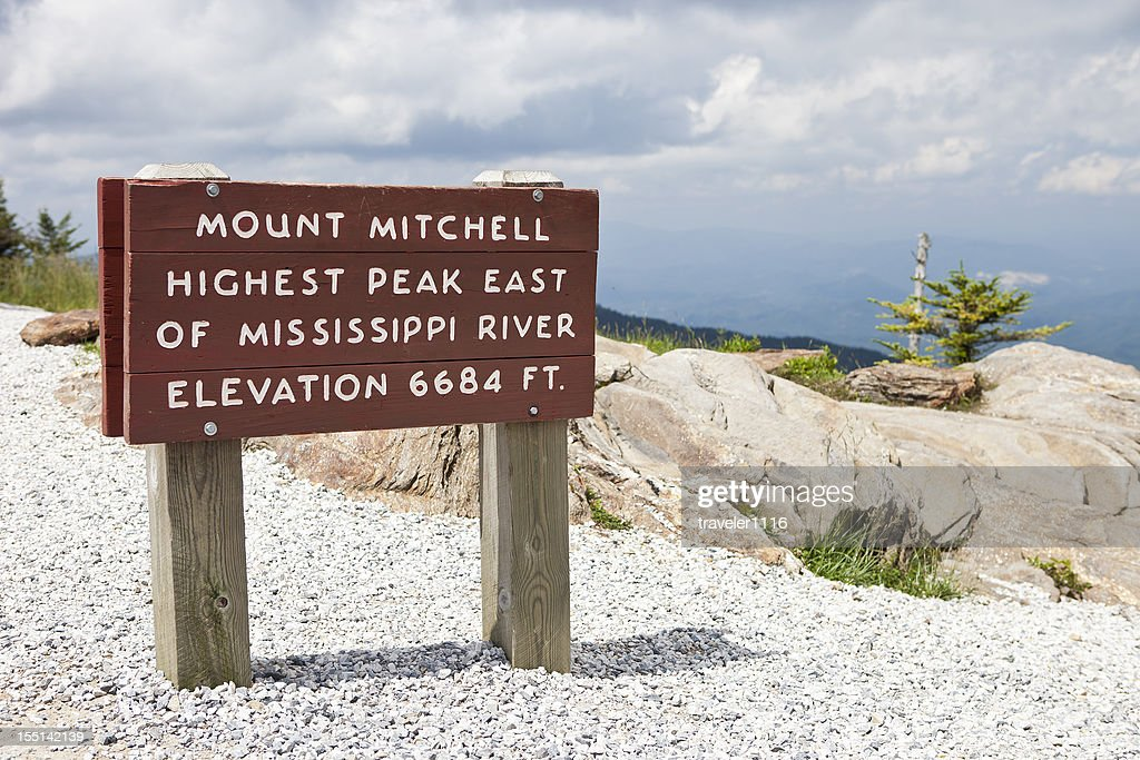 Mount Mitchell In North Carolina, USA : Stock Photo