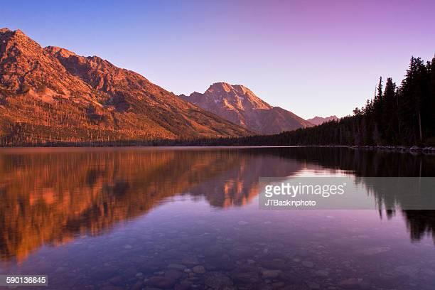 Mount Moran Sunrise - Grand Teton National Park, W