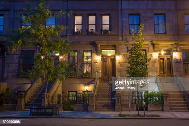 mount morris park, historic district , harlem, ny - harlem stock pictures, royalty-free photos & images