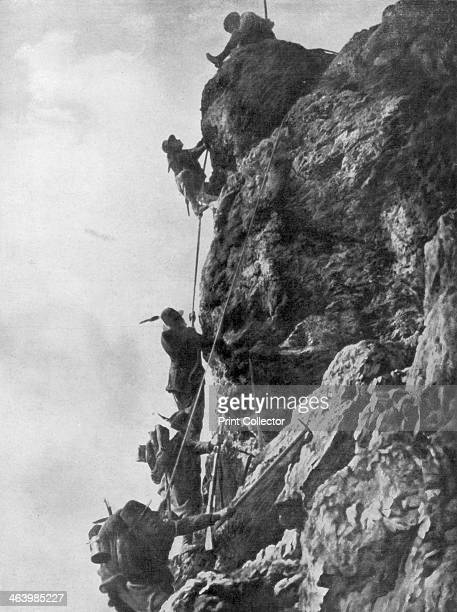 Mount Nero Karst plateau Second Battle of the Isonzo World War I 1915 The Second Battle of the Isonzo was fought between the Italians and...