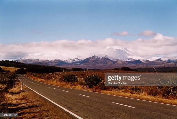 Mount Ngauruhoe and Mount Tongariro
