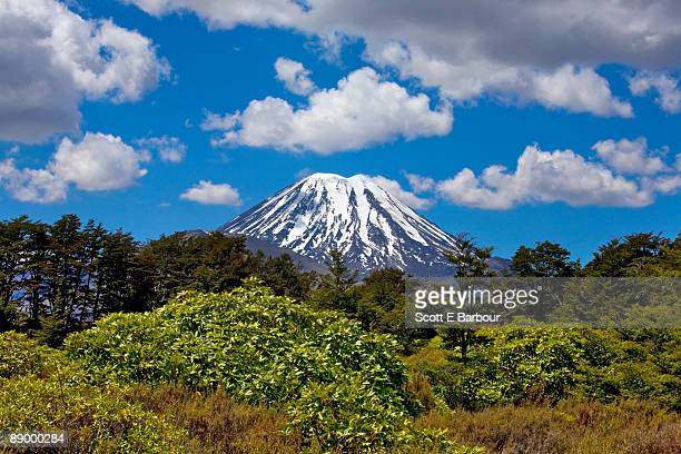 mount ngauruhoe - north island new zealand stock pictures, royalty-free photos & images