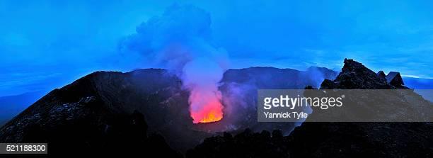 Mount Nyiragongo, Volcano in DR Congo