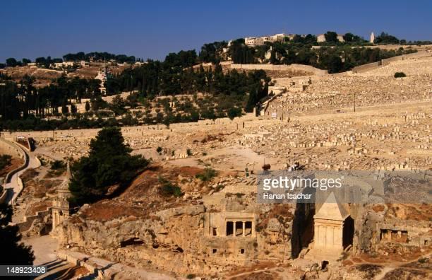 Mount of Olives, Kidron Valley.