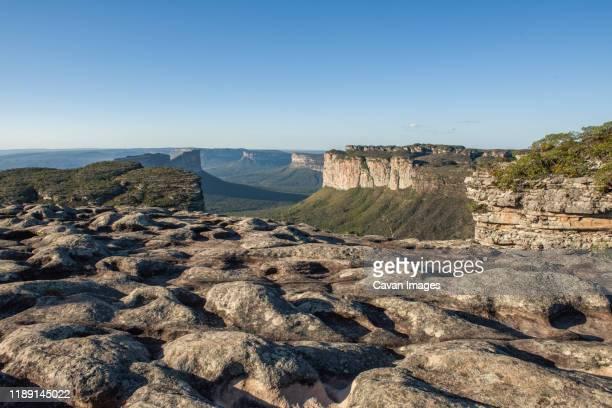 mount of pai in√°cio in chapada diamantina - parco nazionale di chapada diamantina foto e immagini stock