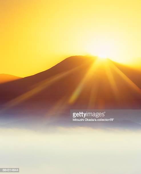 Mount Oputateshike at dawn