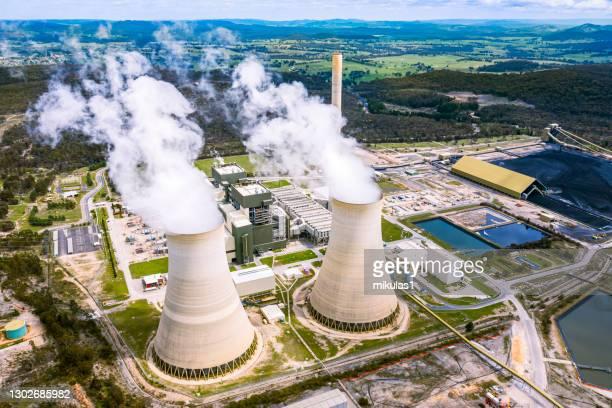 マウントパイパー発電所 - 火力発電所 ストックフォトと画像