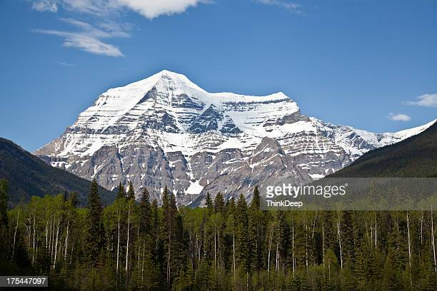 mount robson in kanada - kanada stock pictures, royalty-free photos & images