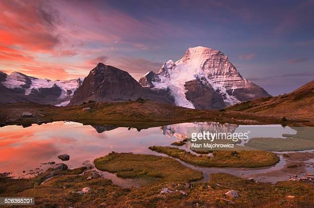 Mount Robson sunrise, Canadian Rockies