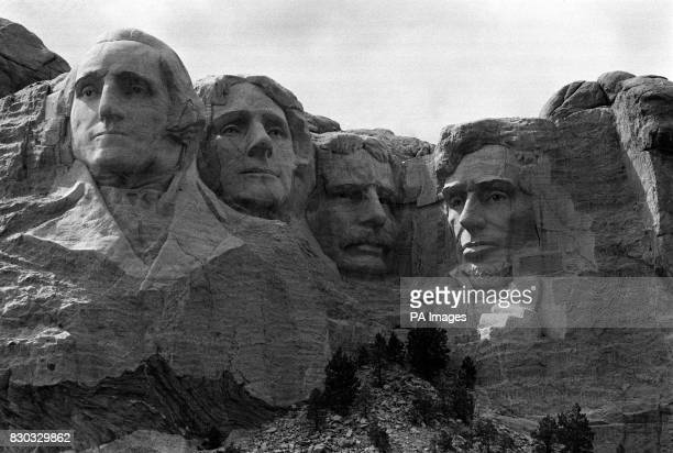 Mount Rushmore America's Shrine of Democracy 'written' in mountain sculpture in the Black Hills of South Dakota The rock heads of four former...