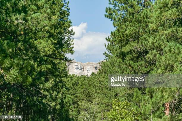 mount rushmore national memorial - keystone, south dakota - black hills stock pictures, royalty-free photos & images