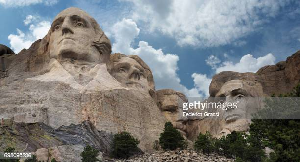 mount rushmore national memorial, rapid city, south dakota - black hills - fotografias e filmes do acervo