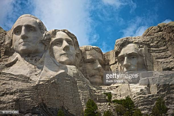 mount rushmore national memorial, south dakota, usa - mt rushmore national monument stock pictures, royalty-free photos & images