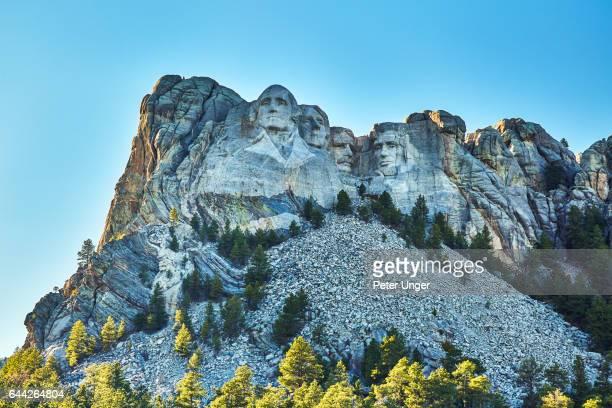 mount rushmore national memorial,south dakota,usa - president - fotografias e filmes do acervo