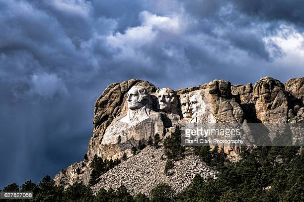mount rushmore - south dakota stock photos and pictures