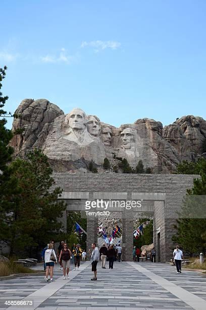 mount rushmore visitor center - terryfic3d bildbanksfoton och bilder