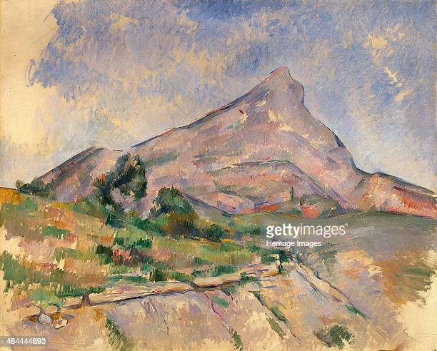 Mount SainteVictoire 18971898 Found in the collection of the State Hermitage St Petersburg
