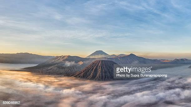 Mount Semeru volcano, Mount Bromo, East Java, Indonesia