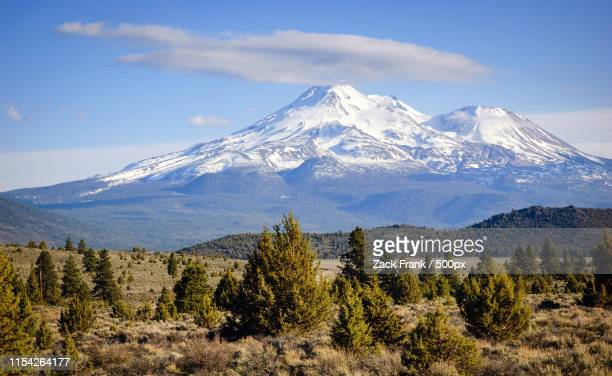 mount shasta - siskiyou stock pictures, royalty-free photos & images
