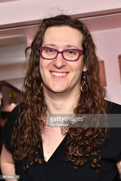 Mount Sinai Center for Transgender Medicine and Surgery program director Zil Goldstein attends the Trans Awareness Dinner at Pietro Nolita on March...